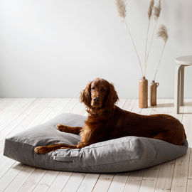 Kind Höyhensaari dog bed colour stone (brown-grey)